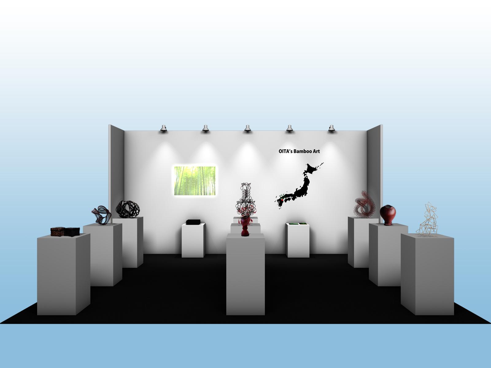 台湾台中花博展示ブースCGイメージ